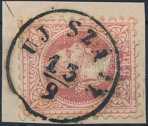 """""""UJ SZÁ(SZ)"""" Austria-Hungary classic postmark """"UJ SZÁ(SZ)"""""""