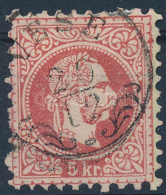 "Austria-Hungary classic postmark ""VESE"" ""VESE"""