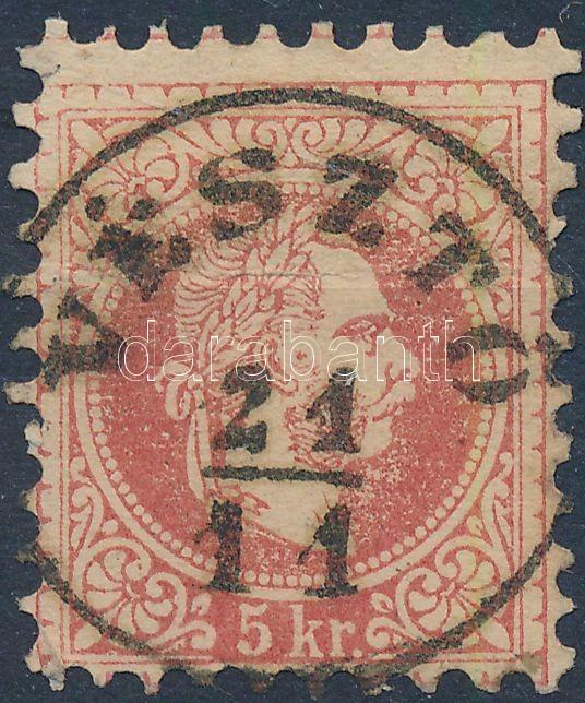 """Austria-Hungary classic postmark """"VÉSZTŐ"""" """"VÉSZTŐ"""""""
