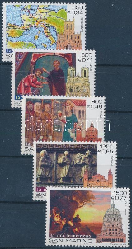Szent év 2000: Zarándoklás sor Holy Year 2000: Pilgrimage set
