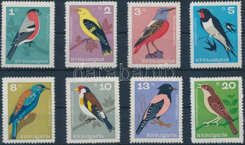 Madarak sor Birds set