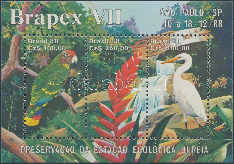 Nemzetközi bélyegkiállítás, BRAPEX Sao Paulo blokk International Stamp Exhibition, BRAPEX Sao Paulo block