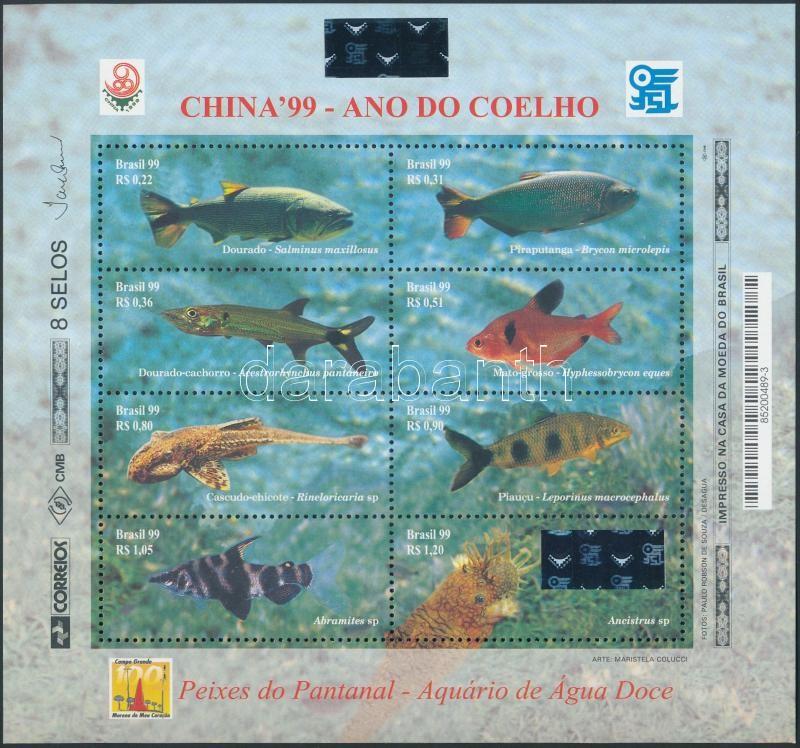 Nemzetközi bélyegkiállítás, CHINA kisív nternational Stamp Exhibition CHINA mini sheet