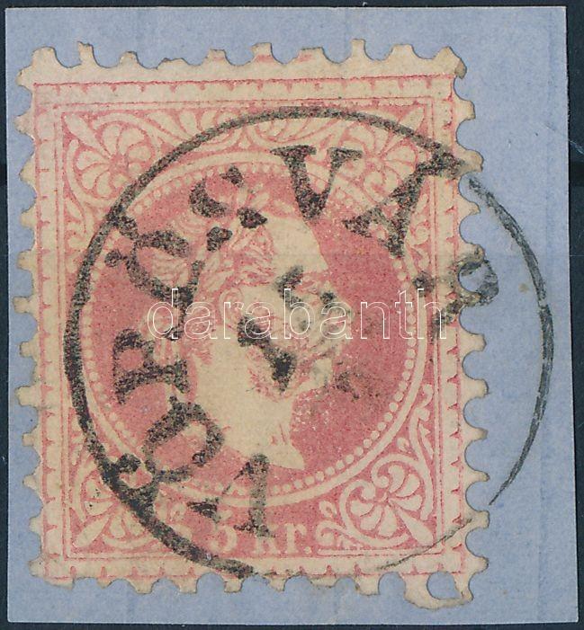 """Austria-Hungary classic postmark """"VÖRÖSVÁR"""" """"VÖRÖSVÁR"""""""