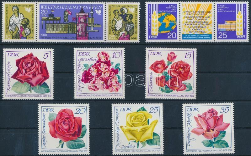 1969-1972 5 sets, 1969-1972 5 db sor (2 db stecklapon)