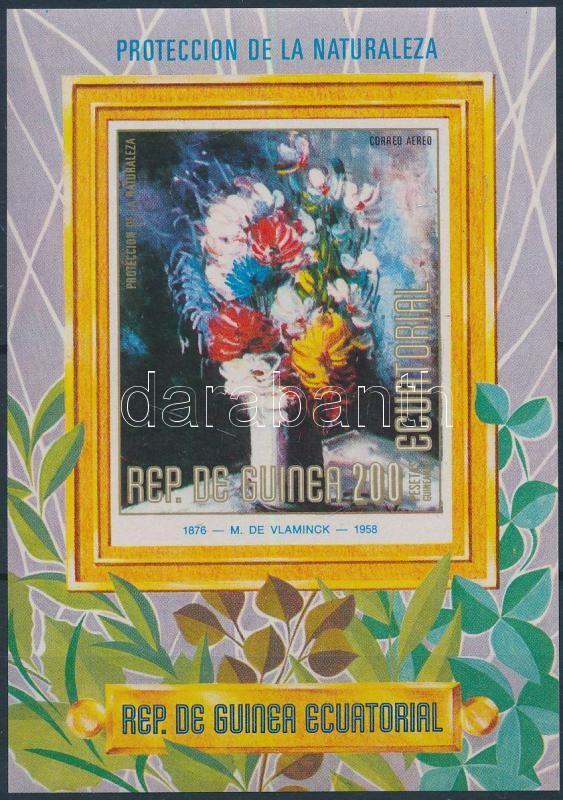 Flower, painting block, Virág, festmény blokk