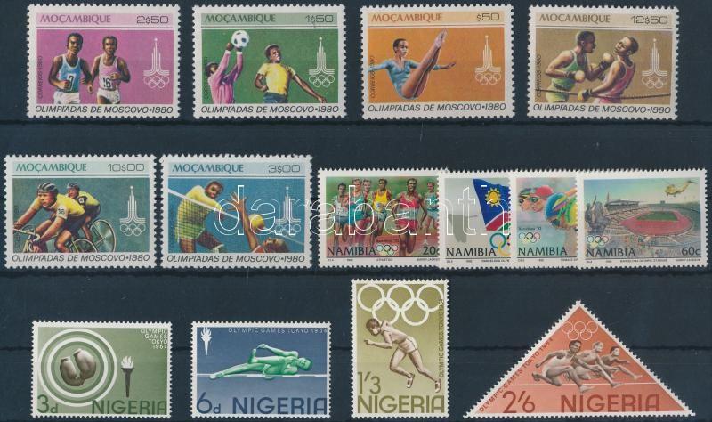 1964-1992 Olympics 3 diff sets 1964-1992 Olimpia motívum 3 klf sor