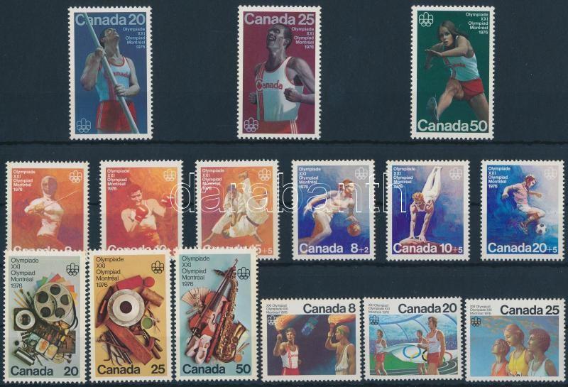 1975-1976 Olympics 5 sets, 1975-1976 Nyári Olimpia 5 klf sor