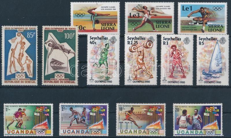 1964-1984 Olympics 4 diff sets, 1964-1984 Olimpia motívum 4 klf sor