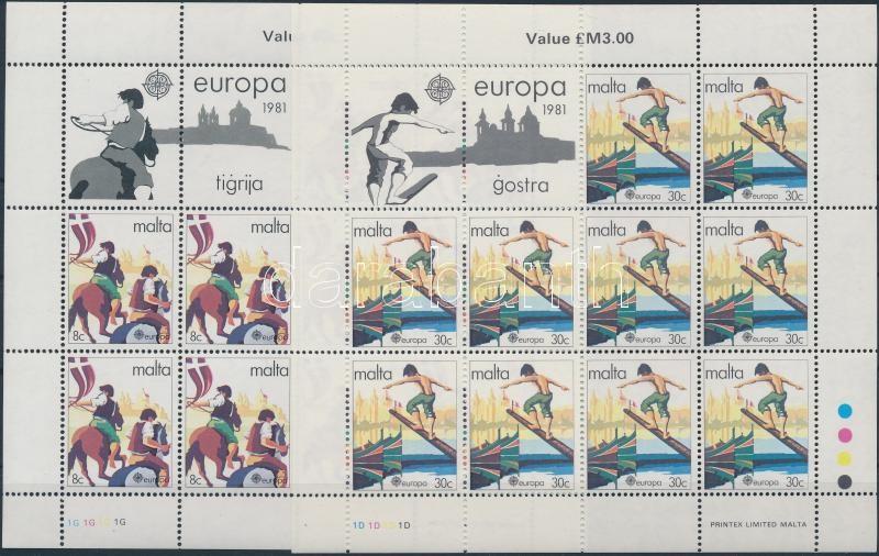 Europa CEPT: Folklore mini sheet set Europa CEPT: folklór kisívsor