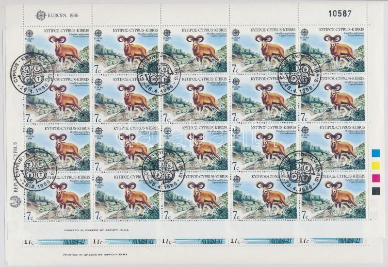 Nature and the Environment Protection : Animals mini sheet set, Természet- és környezetvédelem: Állatok kisívsor