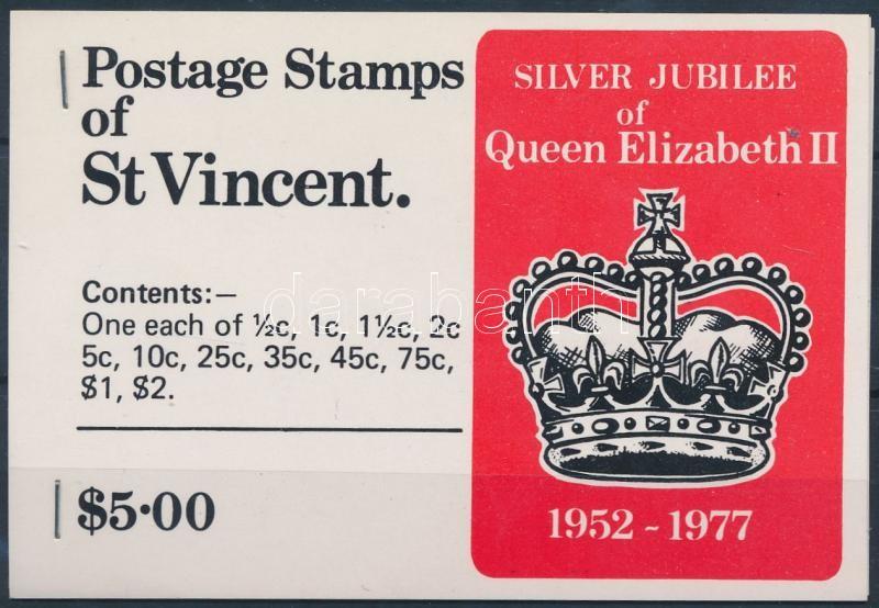 Queen Elizabeth II stampbooklet, II. Erzsébet királynő uralkodásának 25. évfordulója bélyegfüzet