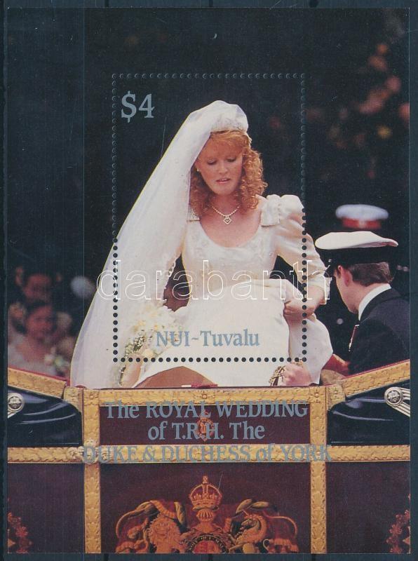 Prince Andrew and Sarah Ferguson's wedding block, Andrew herceg és Sarah Ferguson esküvöje blokk