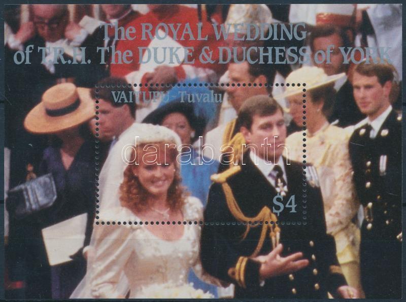 Prince Andrew and Sarah Ferguson's wedding block, Andrew herceg és Sarah Ferguson esküvője blokk