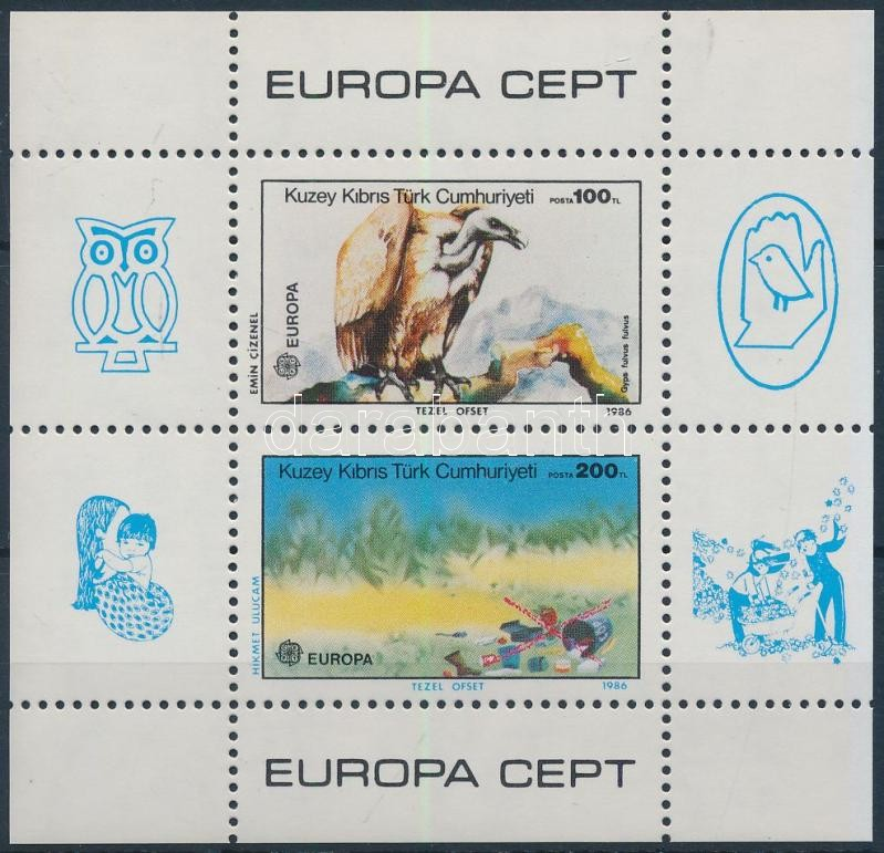 Europa CEPT, nature conservation block, Europa CEPT, természetvédelem blokk