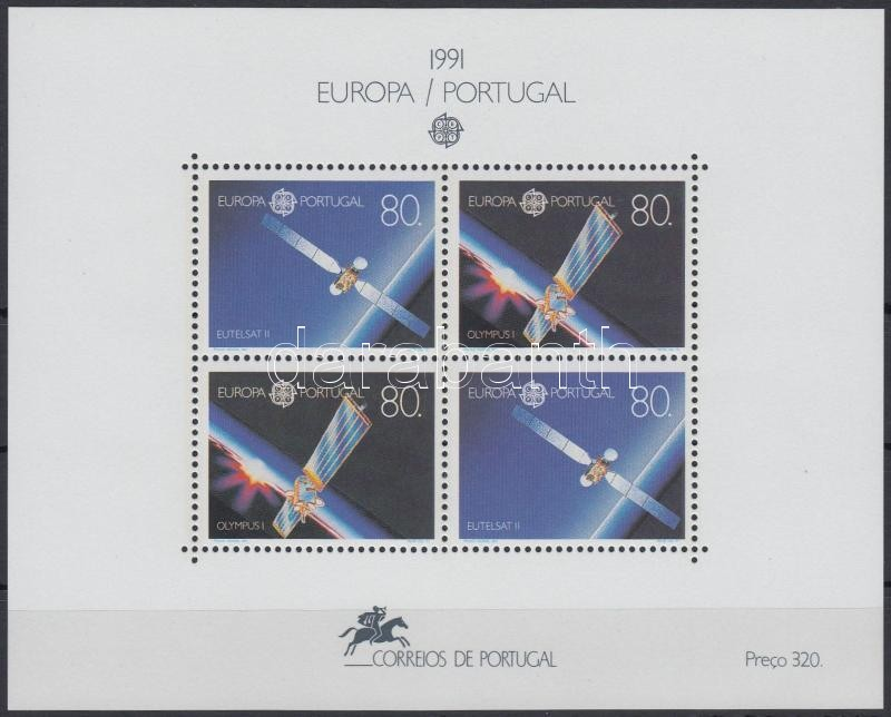 Europa CEPT: Space exploration block, Europa CEPT: Űrkutatás blokk