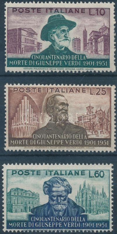 G. Verdi set, G. Verdi sor