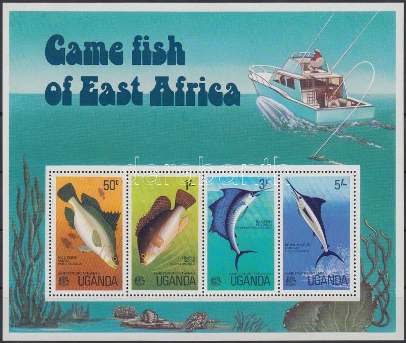 Sport Fishing block, Sporthorgászat blokk