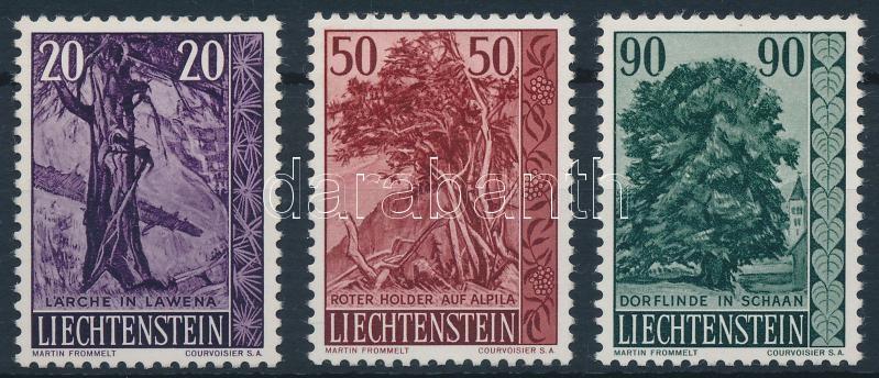 Trees and shrubs set, Fák és cserjék sor