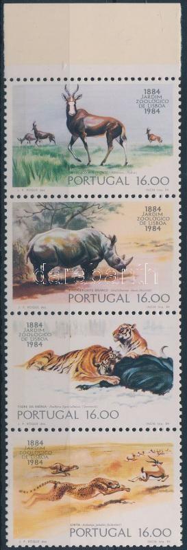 Zoo stripe of 4, 100 éves az állatkert négyescsík