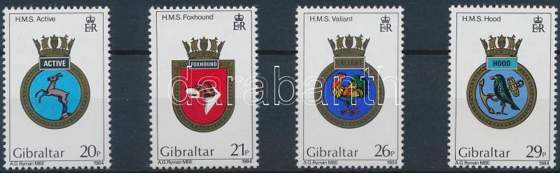 Ships Coat of arms set, Hajócímerek sor