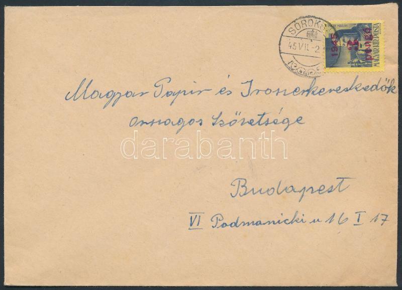 Inflation cover, (2. díjszabás) Távolsági levél Kisegítő 3P/3f bérmentesítéssel, a díjszabás első napján feladva