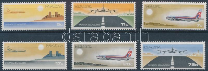 Airplanes set, Repülőgépek sor