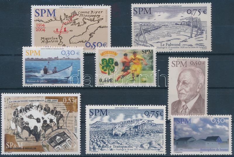 2004-2005 8 stamps, 2004-2005 8 klf bélyeg