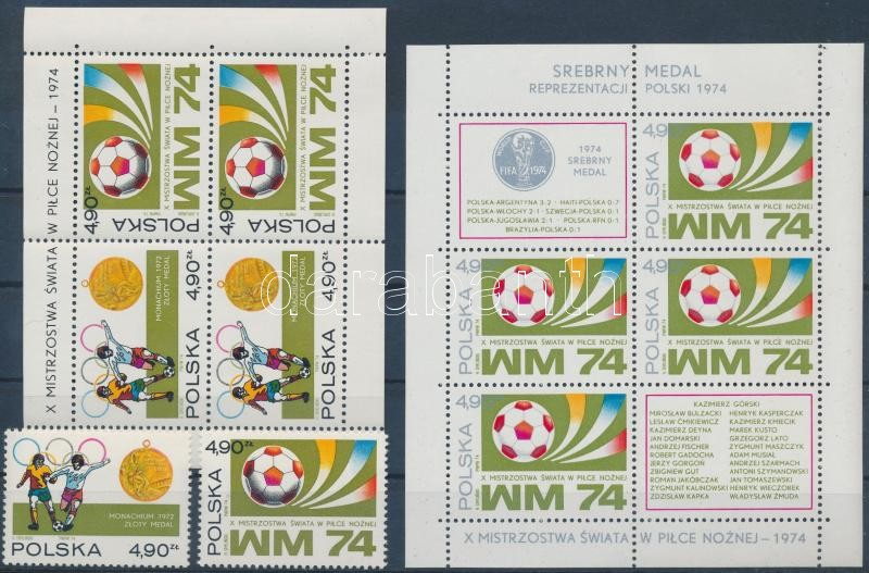 Football World Cup, Germany set + block, Labdarúgó VB, Németország sor + blokk