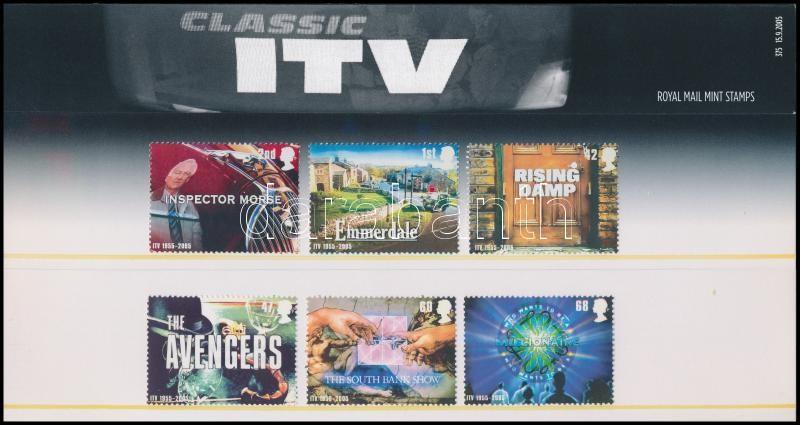 50th anniversary of television set in decorative packaging, 50 éves a televíziózás sor díszcsomagolásban