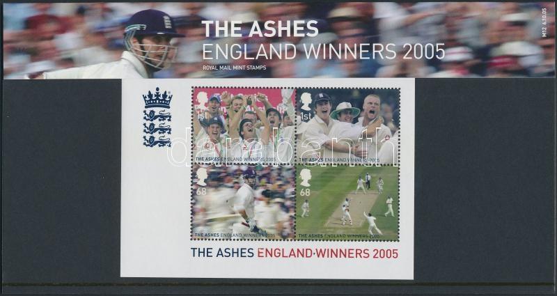 Cricket block in decorative package, Krikett blokk díszcsomagolásban