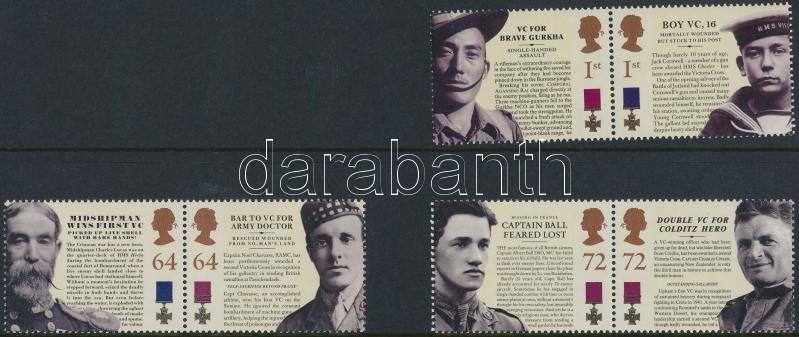Victoria Cross of Merit 3 pairs, Victoria érdemkereszt 3 pár