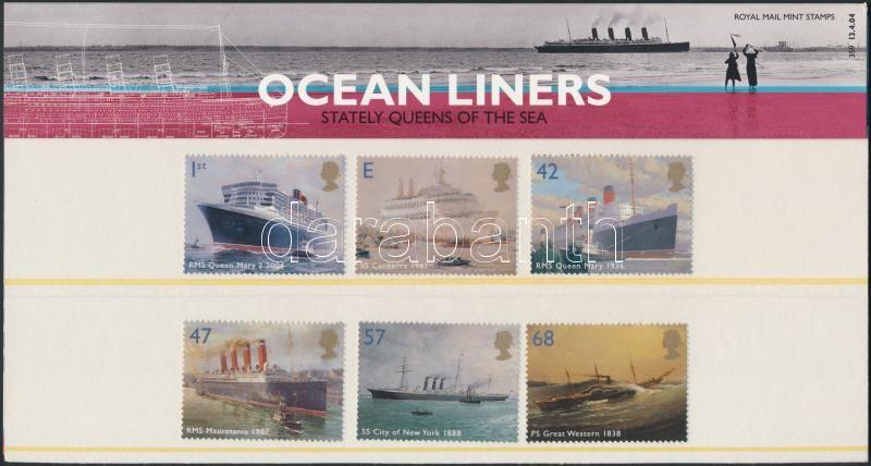 Ships set in decorative packaging, Hajók sor díszcsomagolásban