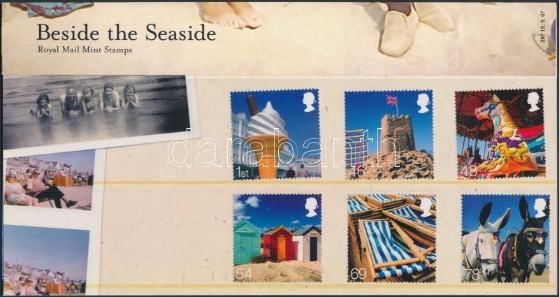 Seaside vacation set in holder Tengerparti nyaralás sor díszcsomagolásban