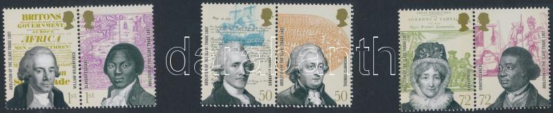 Abolition of the slave trade 3 pairs, A rabszolga kereskedelem eltörlése 3 pár