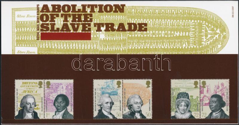 Abolition of the slave trade 3 pairs in holder A rabszolga kereskedelem eltörlése 3 pár díszcsomagolásban
