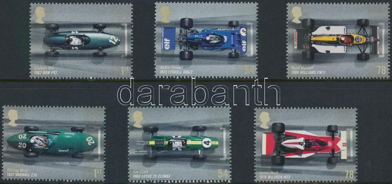 Formula 1 set 50 éves az angol Forma 1 nagydíj sor