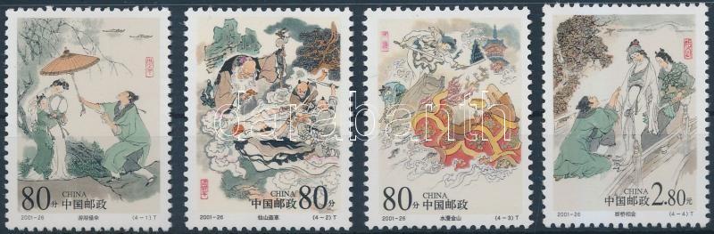 Chinese legends set, Kínai mondák sor