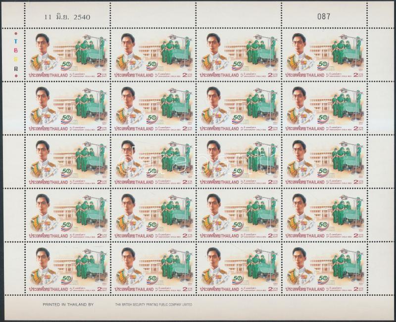 Medical specialization mini sheet, Orvosi szakirány kisív