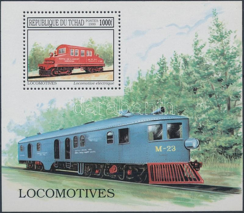 Locomotives block, Mozdony blokk