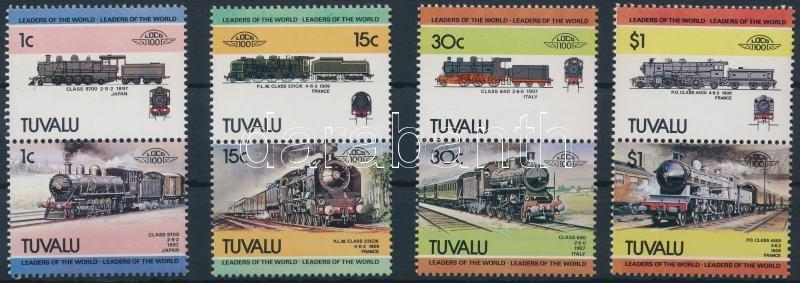 Mozdony (III) sor 4 párban, Locomotives (III) set 4 pairs