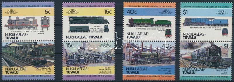 Locomotives (I) set 4 pairs, Mozdony (I) sor 4 párban