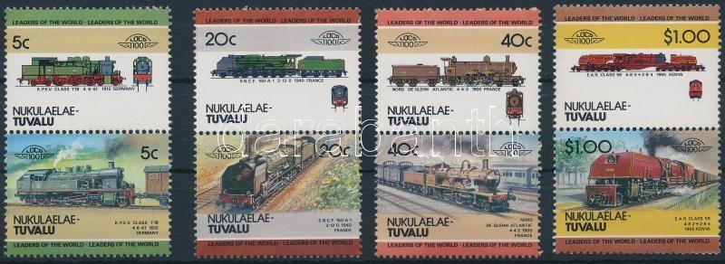 Locomotives (II) set 4 pairs, Mozdony (II) sor 4 párban