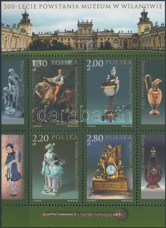 200th anniversary of the National Museum of block, 200 éves a Nemzeti Múzeum blokk