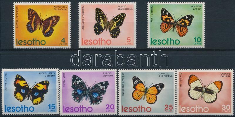 Butterflies set, Lepkék sor