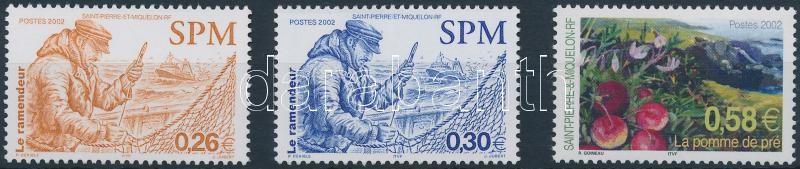 1 bélyeg és 1 sor, 1 stamp and 1 set