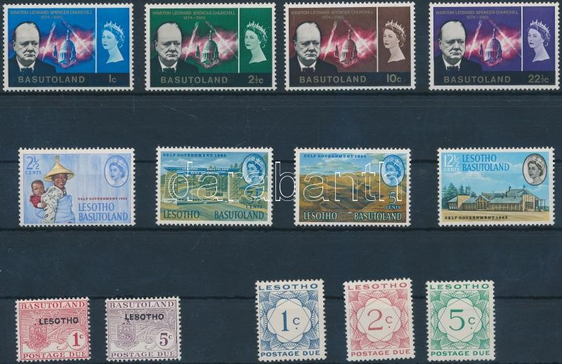 1965-1967 2 set and 2 postage due set, 1965-1967 2 sor és 2 Portó sor