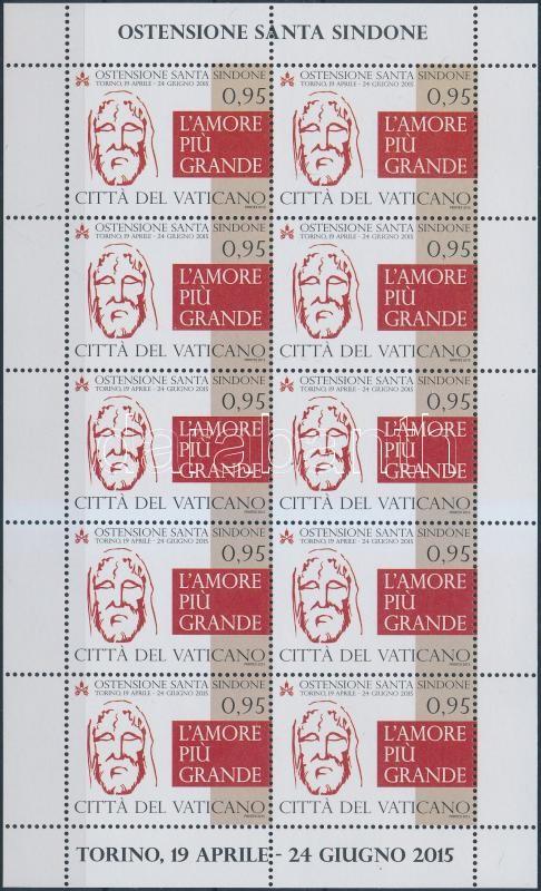 Turin Exhibition mini sheet, Torinói kiállítás kisív