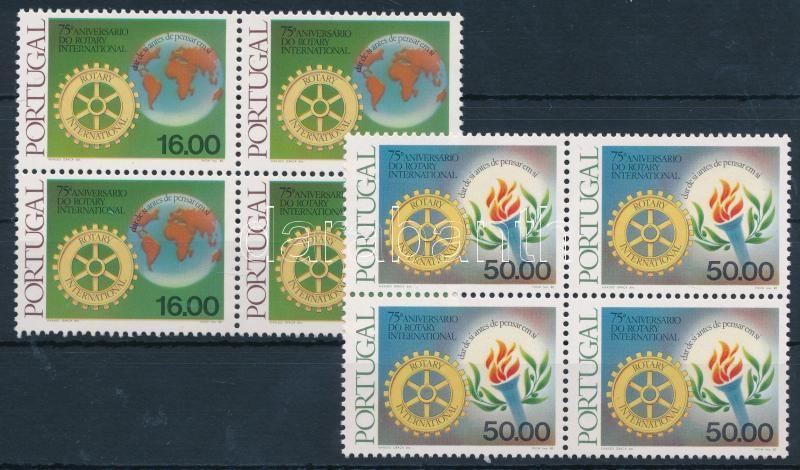 Rotary set blocks of 4 Rotary sor 4-es tömbökben