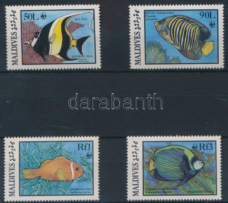 WWF: Halak sor + 4 FDC, WWF Fishes set + 4 FDC